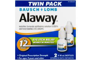 Bausch + Lomb Alaway Eye Itch Relief - 2 PK