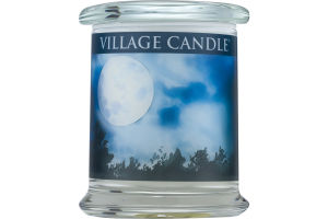 Village Candle Moonlight