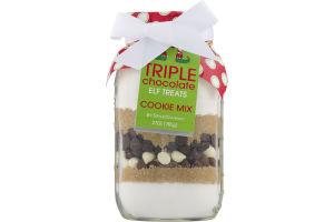 Sisters Gourmet Triple Chocolate Elf Treats Cookie Mix
