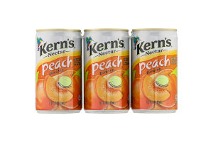 Kern's Nectar Peach - 6 PK