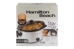 Hamilton Beach Stay or Go 6 Quart Slow Cooker