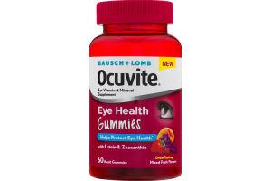 Bausch + Lomb Ocuvite Eye Vitamin & Mineral Supplement Eye Health Gummies - 60 CT