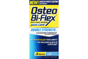 Osteo Bi-Flex Double Strength Joint Care Dietary Caplets - 110 CT