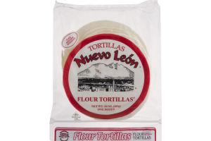 Nuevo Leon Flour Tortillas Medium Burritos - 12 CT