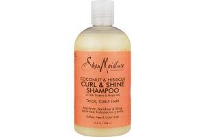 Shea Moisture Curl & Shine Shampoo Coconut & Hibiscus