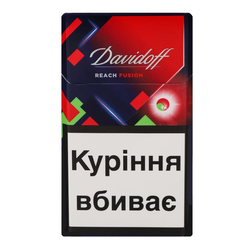 Сигареты davidoff reach fusion где купить перечень документов на продажу табачных изделий