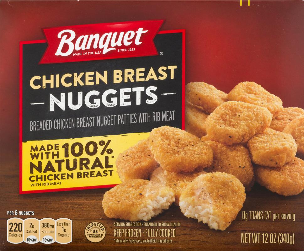 Banquet Chicken Breast Nuggets Banquet(31000120276): customers reviews @ listex.online