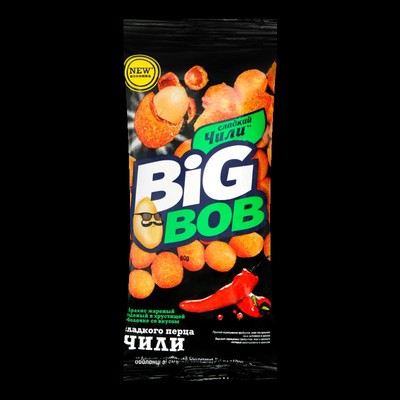 Арахіс Big Bob в оболонці зі смаком чілі 60г