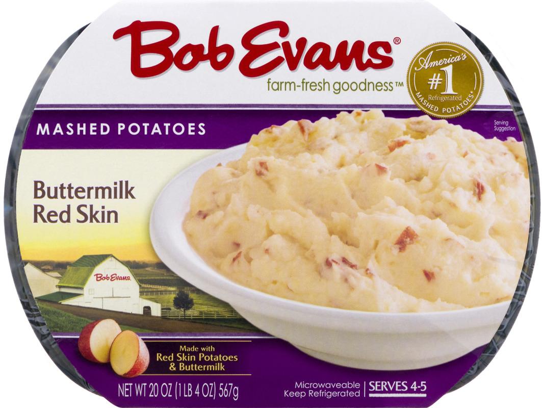 Bob Evans Mashed Potatoes Buttermilk Red Skin Bob Evans75900006186