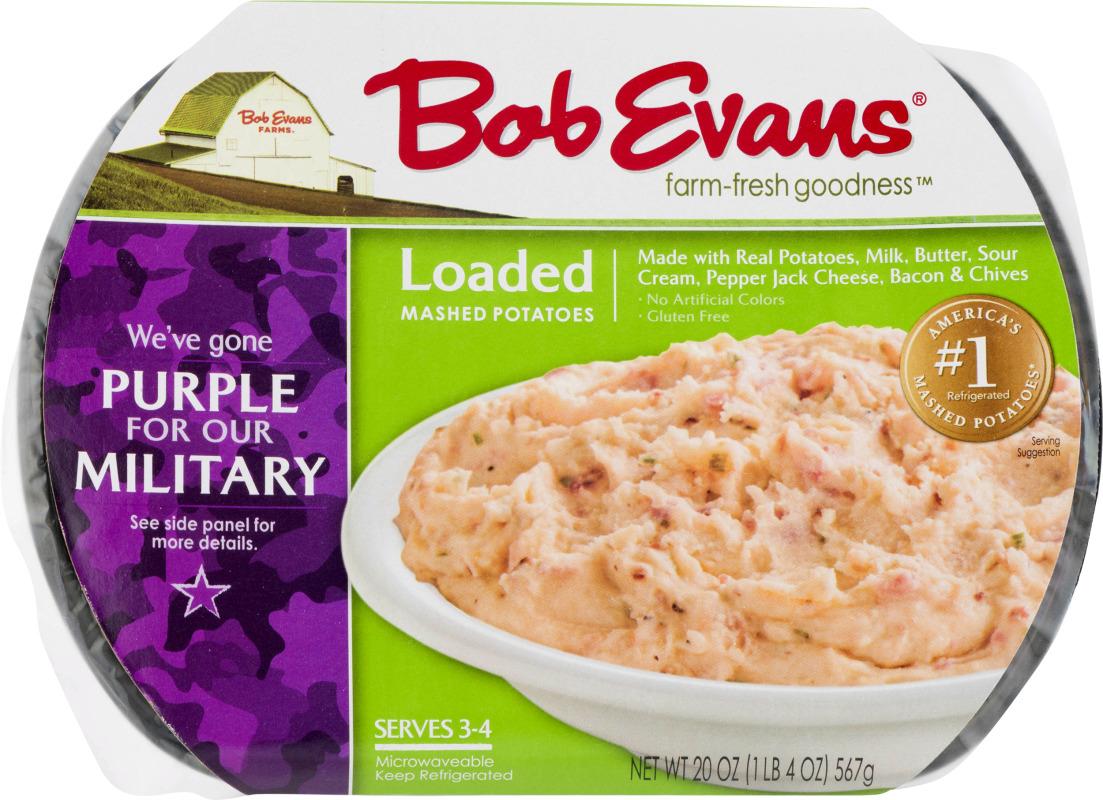 Bob Evans Mashed Potatoes Loaded Bob Evans75900006179 Customers