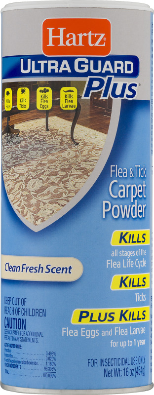 Hartz Ultra Guard Plus Flea & Tick Carpet Powder Clean Fresh Scent Hartz(32700022655): customers reviews @ listex.online
