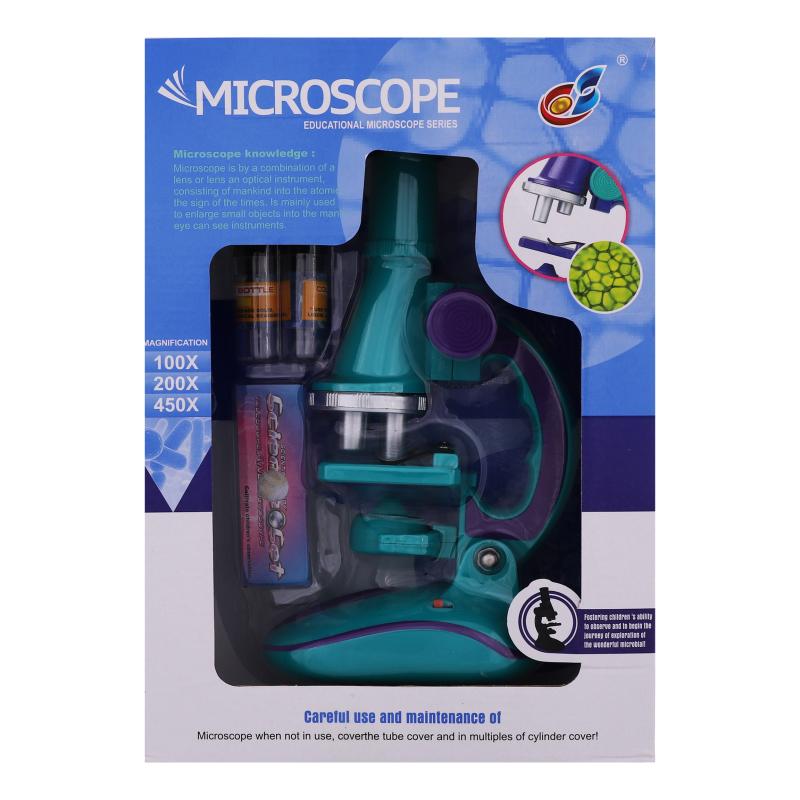 მიკროსკოპი განათებით