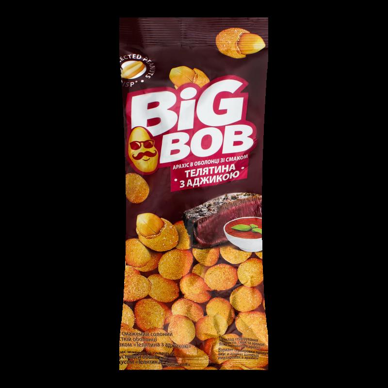 Арахіс Big Bob в оболонці смак телятина з аджикою 60г