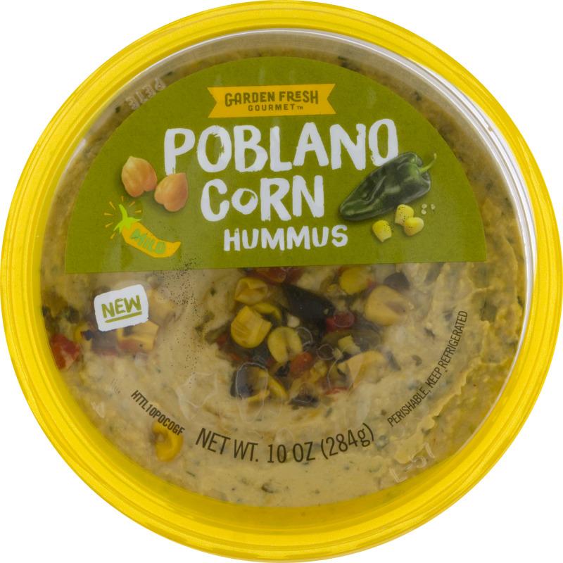 Garden Fresh Gourmet Hummus Poblano Corn Garden Fresh Gourmet ...