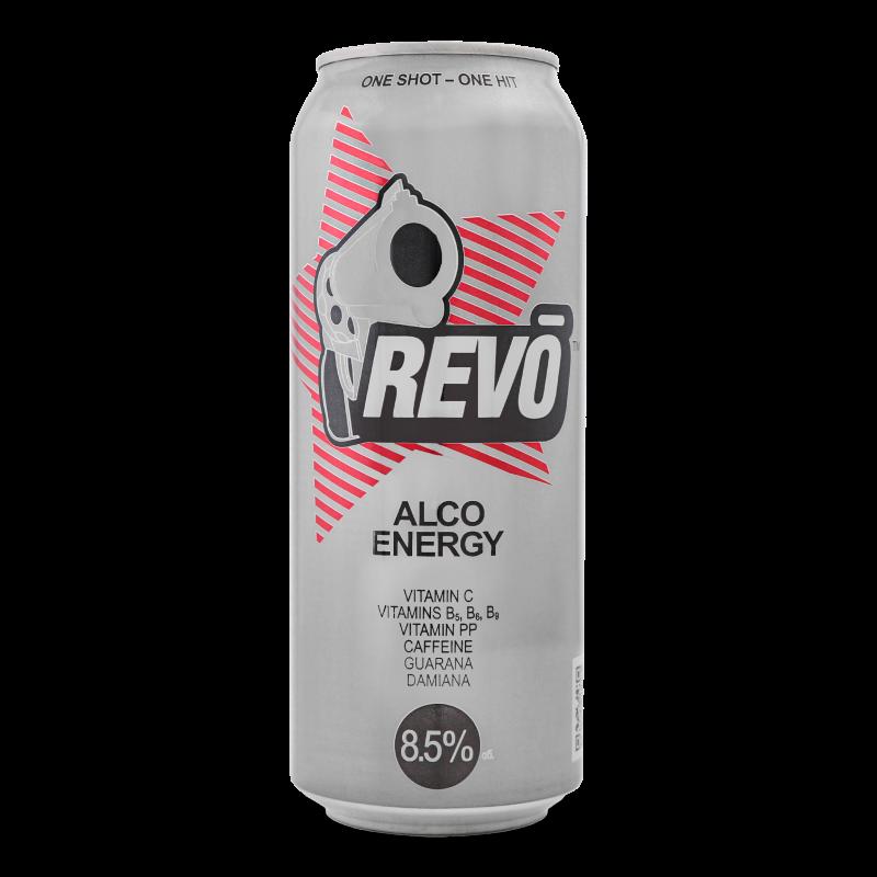 Напій енергетичний Revo слабоалкогольний 0.5л