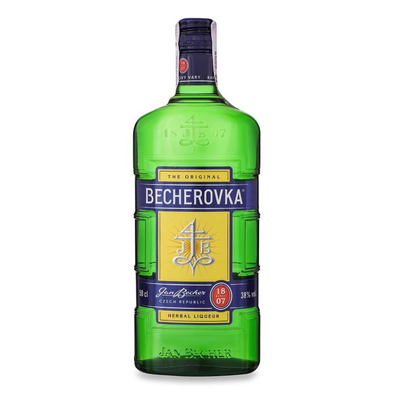 Настоянка БЕХЕРОВКА 38% 0.5л