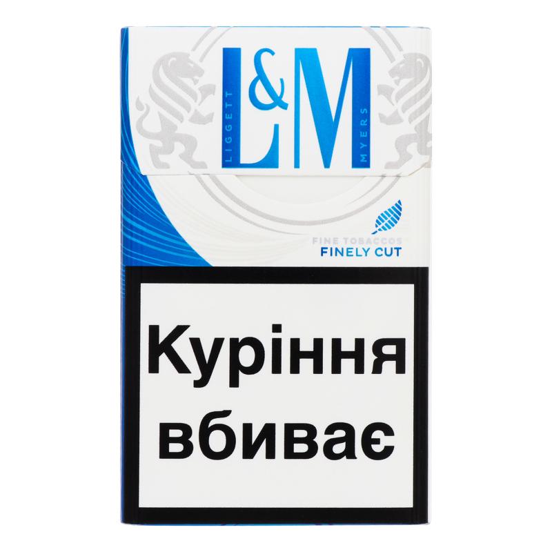 lm синий сигареты купить в