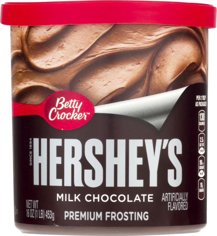 Amazoncom Betty Crocker Frosting Rich amp Creamy Gluten Free Frosting Dark Chocolate 16 Oz Canister Pack of 8 Dessert Frostings Grocery amp Gourmet Food