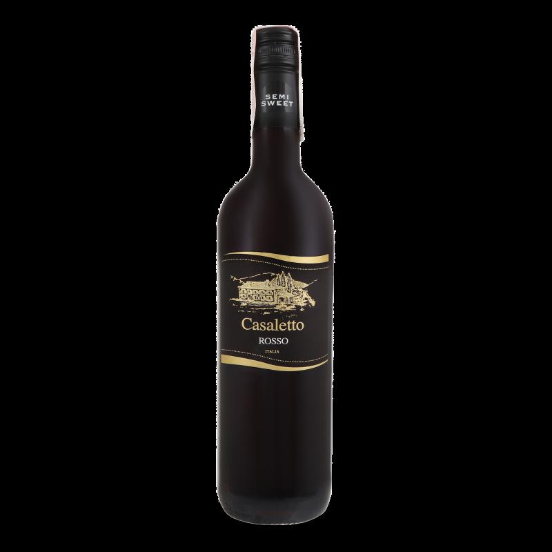 Вино Casaletto Rosso semi sweet 0.75л