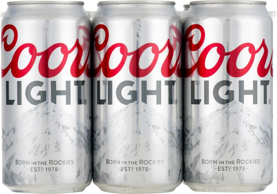 Coors Light 6 Pk Coors Light 71990000080 Customers Reviews Listex Online