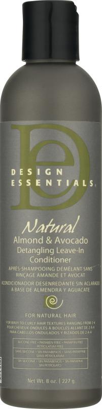 Design Essentials Natural Detangling Leave In Conditioner Almond