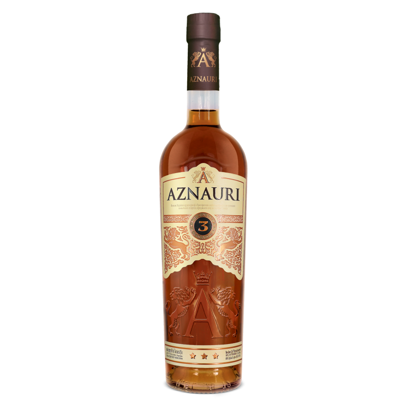 Коньяк Aznauri 3* 0.5л
