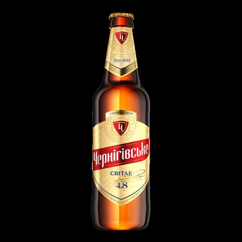 Пиво Чернігівське світле 0.5л