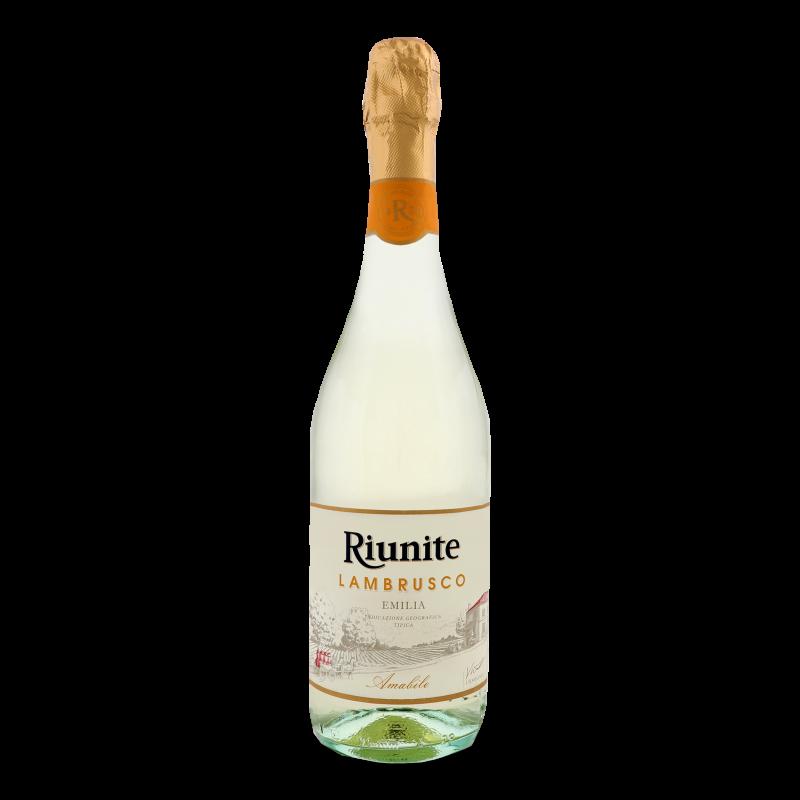 Вино ігр Riunite Lambrusco Emilia IGT Bianco 0.75л