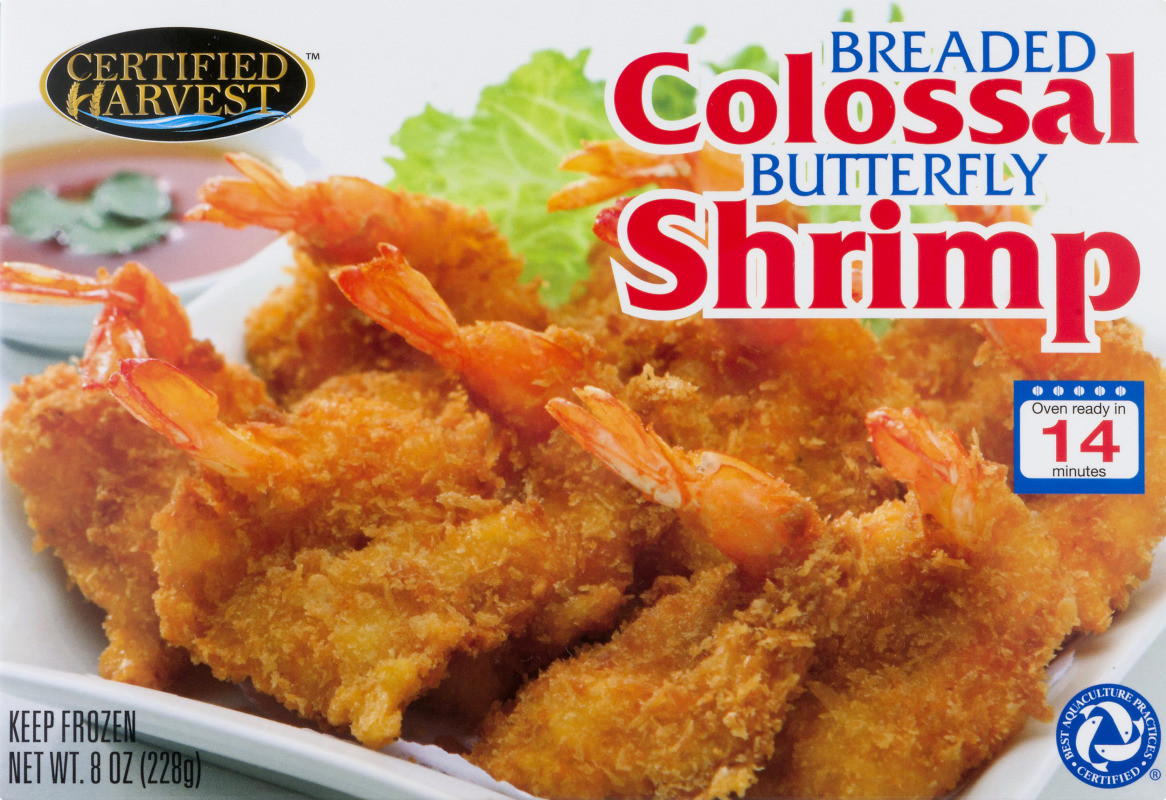 Certified Harvest Colossal Shrimp Breaded Butterfly