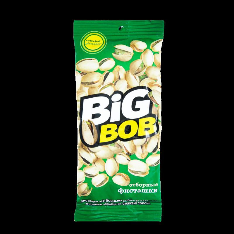 Фісташки Big Bob смажені відбірні 45г