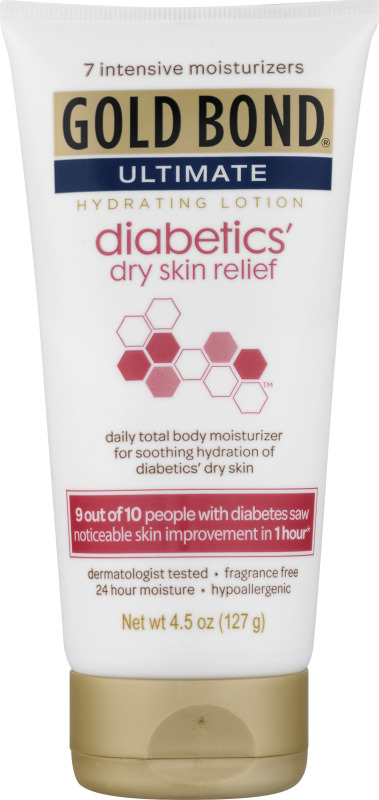 Gold Bond Ultimate Diabetics Dry Skin Relief Hydrating Lotion