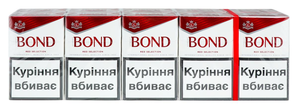 Бонд красный сигареты купить заказать сигареты американские