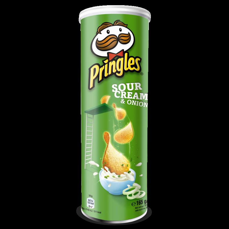 Чіпси Pringles сметана-цибуля 165г