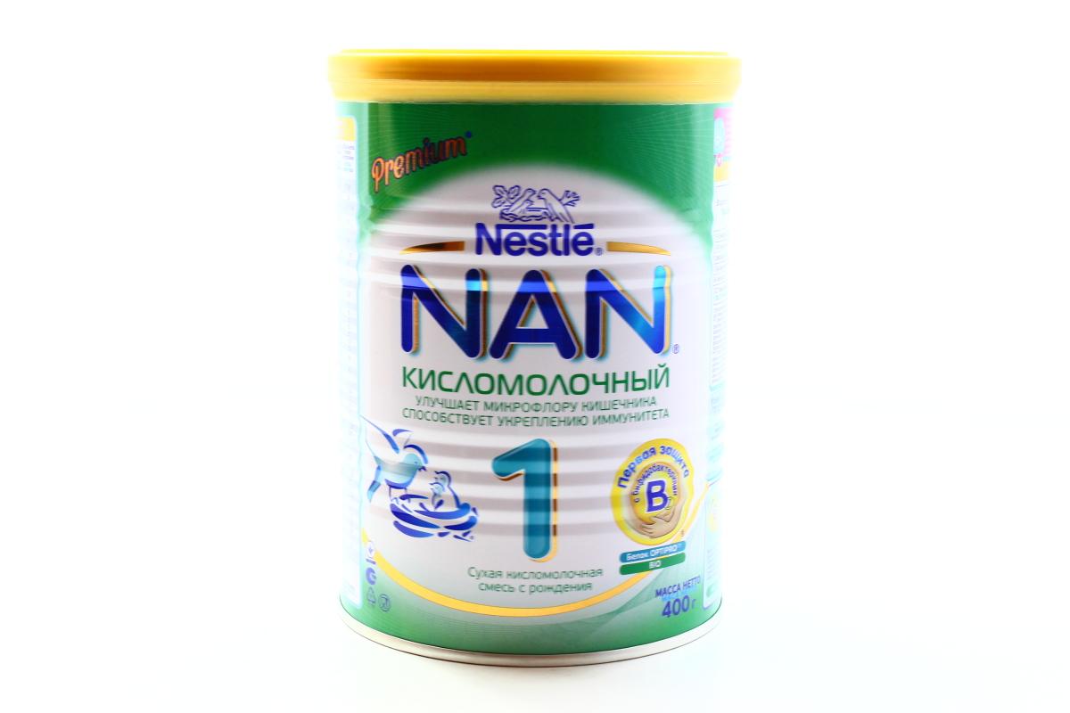 Смесь кисломолочная nan 1 с 0 мес