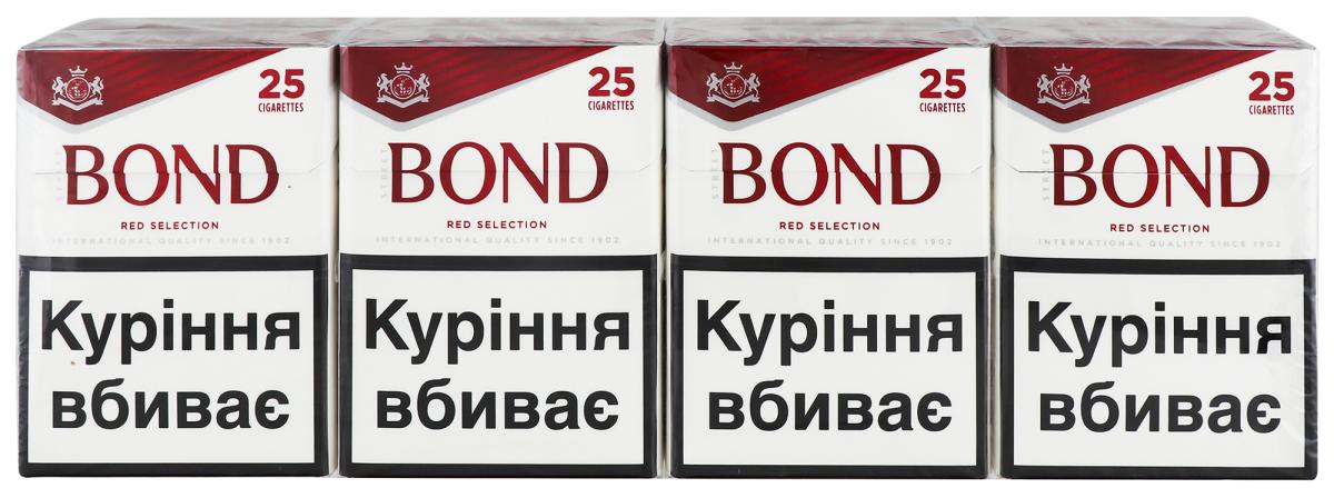 Купить сигареты бонд красный купить мундштук для сигарет женский в воронеже